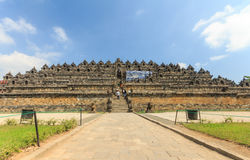 Borobudur temple,Indonesia Royalty Free Stock Image