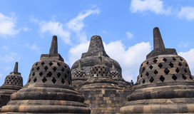 Borobudur temple, Indonesia Stock Image