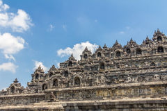 Borobudur Temple in Java Indonesia Royalty Free Stock Image