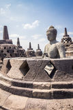 Borobudur Temple in Java Indonesia Stock Photography