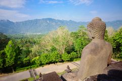 Borobudur Temple, Java, Indonesia. Stock Image