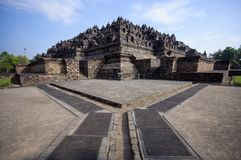 Borobudur Temple, Java, Indonesia. Royalty Free Stock Image