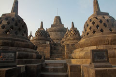 Borobudur Temple, Java island, Indonesia. Stock Photography
