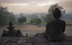 Borobudur Temple in Magelang Stock Image