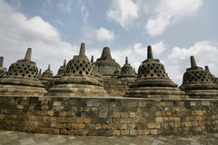 Borobudur Temple Royalty Free Stock Photo