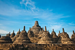 Borobudur temple near Yogyakarta Stock Photo