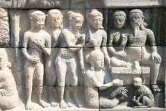 Borobudur Temple Series 02 Stock Photo