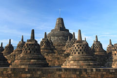 Borobudur Temple Stupa Stock Photos