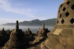 Borobudur Temple at Yogyakarta Royalty Free Stock Image