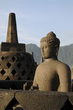 Borobudur Temple at Yogyakarta Stock Photo