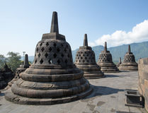 Borobudur Temple, Yogyakarta, Indonesia. Royalty Free Stock Images