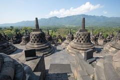 Borobudur Temple, Yogyakarta, Indonesia. Stock Photos