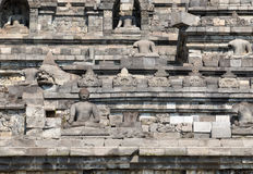 Borobudur Temple, Yogyakarta, Indonesia. Royalty Free Stock Photos