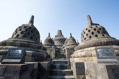 Borobudur Temple, Yogyakarta, Indonesia. Royalty Free Stock Image