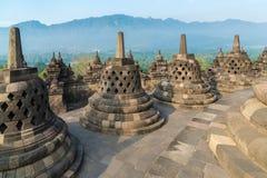 Borobudur Temple, Yogyakarta, Java Royalty Free Stock Images