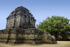 Borobudur temple yogyakarta java indonesia. Outlying temple ruins in the borobudur complex  yogyakarta java indonesia Royalty Free Stock Photos