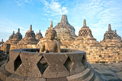 Borobudur Temple, Yogyakarta, Java, Indonesia. Stock Photo