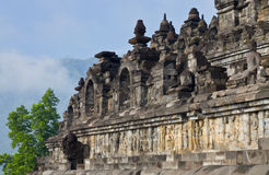Borobudur Temple. Yogyakarta, Java, Indonesia. Royalty Free Stock Photo