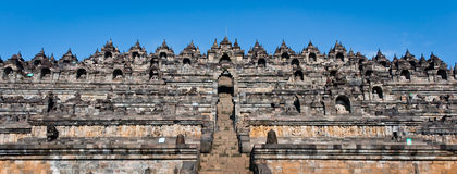 Borobudur Temple. Yogyakarta, Java, Indonesia. Royalty Free Stock Photos