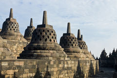 Borobudur Temple. Yogyakarta, Java, Indonesia. Stock Photography