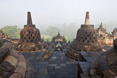 Borobudur Temple. Yogyakarta, Java, Indonesia. Stock Photo