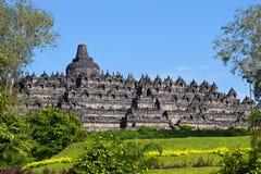 Borobudur Temple. Yogyakarta, Java, Indonesia. Royalty Free Stock Image