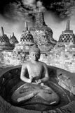 Borobudur Temple, Yogyakarta, Java, Indonesia. Royalty Free Stock Photos