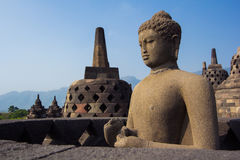 Borobudur Temple, Yogyakarta, Java, Indonesia. Borobudur Temple at day time, Yogyakarta, Java, Indonesia Royalty Free Stock Photo