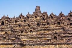Borobudur Temple, Yogyakarta, Java, Indonesia. Borobudur Temple at day time, Yogyakarta, Java, Indonesia Stock Photography