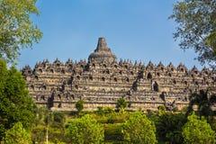 Borobudur Temple, Yogyakarta, Java, Indonesia. Borobudur Temple at day time, Yogyakarta, Java, Indonesia Stock Photos