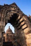 Borobudur Temple, Yogyakarta, Java, Indonesia. Gate doorway Borobudur Temple, Yogyakarta, Java, Indonesia Royalty Free Stock Image
