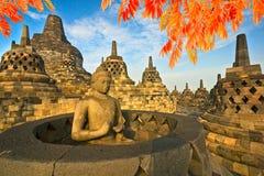 Borobudur Temple, Yogyakarta, Java, Indonesia. Stock Image