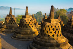 Borobudur Temple, Yogyakarta, Java, Indonesia. Stock Photography