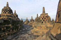 Borobudur temple Royalty Free Stock Photos