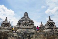 Jakarta, Indonesia, Borobudur Temple. stock images