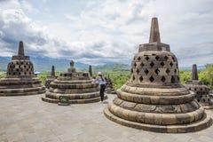 Jakarta, Indonesia, Borobudur Temple. royalty free stock image