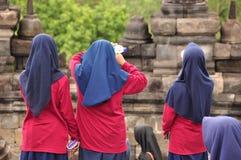 Borobudur, un tempio buddista a Yogyakarta ha iscritto sull'Unesco Fotografia Stock