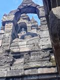 Borobudur fotografie stock libere da diritti