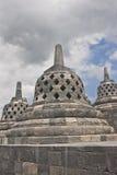 borobudur yogyakarta ναών Στοκ φωτογραφία με δικαίωμα ελεύθερης χρήσης