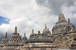 borobudur yogyakarta ναών Στοκ εικόνες με δικαίωμα ελεύθερης χρήσης