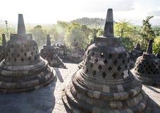Borobudur Yogyakarta, Indonesia Imagenes de archivo