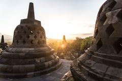 Borobudur, Yogyakarta, Jawa, Indonezja Fotografia Stock