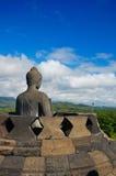 borobudurindonesia tempel yogyakarta Arkivbilder