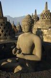 BorobudurJava1. Borobudur Buddhist Temple in Magelang Central Java Royalty Free Stock Photos