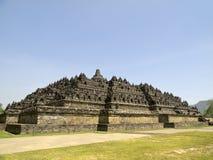 Borobudurtempel in Indonesië Royalty-vrije Stock Foto's