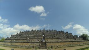 Borobudurtempel in Magelang, Centraal Java, Indonesië stock foto