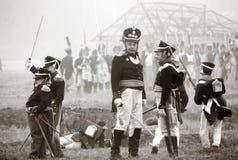 Borodino 2012历史再制定 库存图片