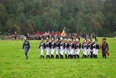 Borodino 2012 historical reenactment Stock Image