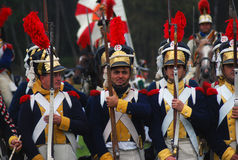 Borodino 2012 historical reenactment Stock Image