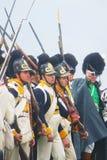Borodino 2012 historical reenactment Royalty Free Stock Images